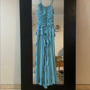 Blue Jessica Mc Clintock dress